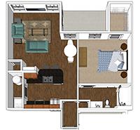 Bluff - 1 Bedroom and 1 Bath Apartment in Harrisonburg